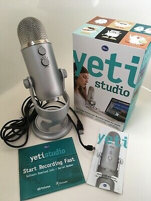 Blue Microphones Yeti Studio All-In-One Professional Vocals Recording System