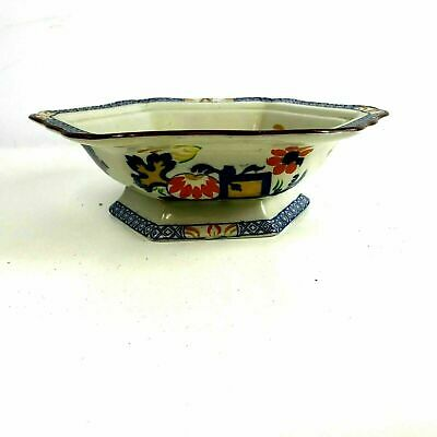 Mason's Jardiniere pattern Footed Serving Bowl