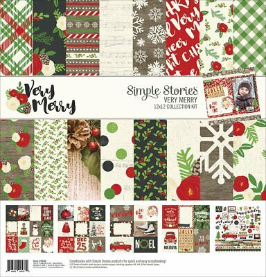 simples étages 9242 Verry Merry Collection Kit