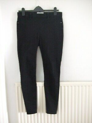 9ca22b8e7f765 Ladies New Look (Emilee Size12 Uk) Black Attractive Used Cotton Jegging  Trousers