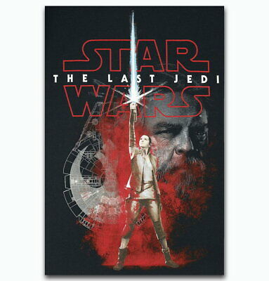 58645 Star Wars The Last Jedi Collector's 2017 Decor Wall Poster Print UK