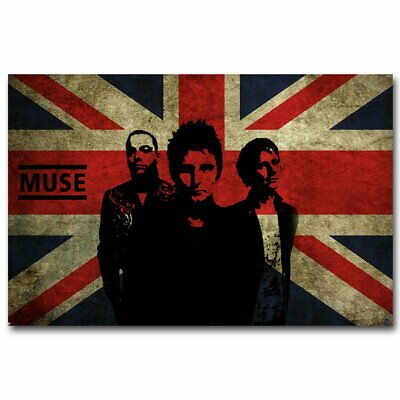 59279 MUSE Rock English Music Band Flag Decor Wall Poster Print UK