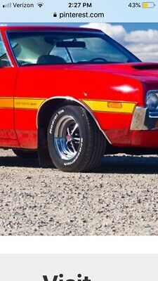 1972 Gran Torino Wheel Well Trim - SHOW CONDITION - PASSENGER SIDE - RIGHT FRONT