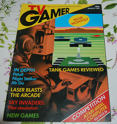 Rivista videogiochi - TV GAMER - MARCH 1984 - NUMERO 4 - Lingua inglese - UK