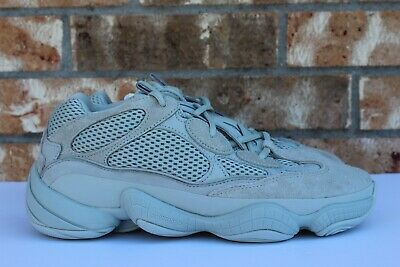 5a0bf5f4042ca Men s Adidas Originals Yeezy 500 Salt Desert Rat Kanye West Size 9 EE7287