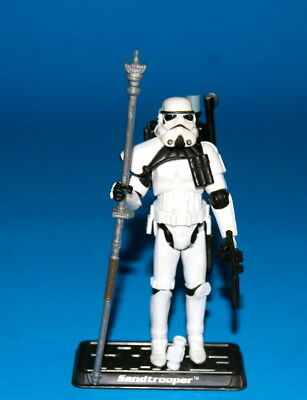 Star Wars Saga Sandtrooper Clean Loose Complete