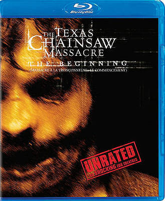NEW - The Texas Chainsaw Massacre: The Beginning (Unrated) [Blu-ray]
