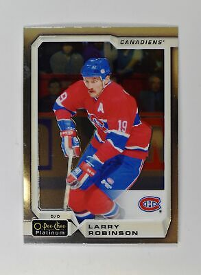 2018-19 18-19 UD Upper Deck O-Pee-Chee OPC Platinum Base #148 Larry Robinson