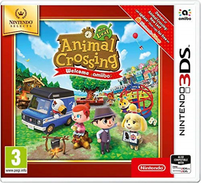 Nintendo 3DS-ANIMAL CROSSING NL SELECT (UK IMPORT) GAME NEW