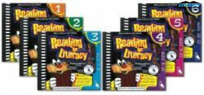 Reading for Literacy Bundle (Levels 1-6) Home Edition