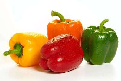 Bell*(Sweet)Pepper MIX*50-Seeds*(Red-Green-Yellow)Hardy Variety For UK Weather