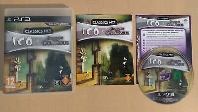 ICO & Shadow of the Colossus CLASSICS HD - COMPLETO PAL ESPAÑA - PS3