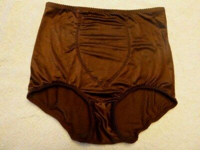 9cb9e2527789 Cupid Style # 2106 XLarge Light Control Briefs Tummy Panel Shapewear Brown
