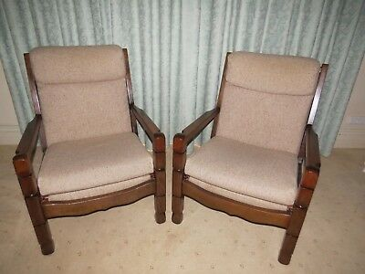 Vintage Lounge Chairs  - a pair of comfortable chairs
