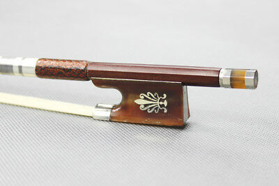Gold mounted Advance Level violin bow over 25 years old Pernambuco New size 4/4