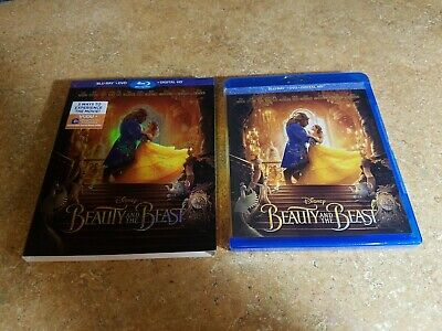 Disney Beauty and the Beast LIVE VERSION (Blu-ray/ DVD, Includes Digital HD)