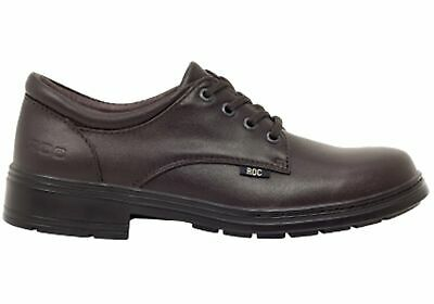 New Roc Larrikin Senior Older Girls/Ladies Brown School Shoes