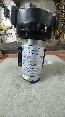 Aquatec DDP 550 Demand Delivery Water Pump Reverse Osmosis Systems New