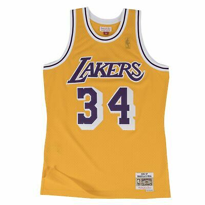 042837f6d Mens Mitchell   Ness NBA Shaquille O Neal Swingman Jersey Los Angeles Lakers