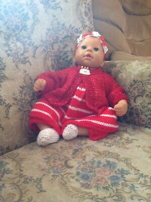 baby Born dolls knitted clothes