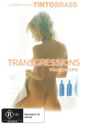 Transgressions - Tinto Brass - New Dvd - Free Local Post