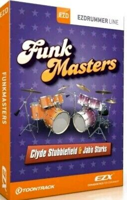 Toontrack Funk Master EZX and Funk Midi License Transfer