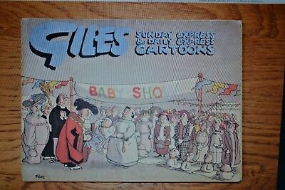 GILES CARTOON ANNUAL No. 5 from 1950-51; Sunday Daily Express; Original
