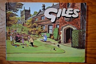 GILES CARTOON ANNUAL No. 21 from 1966-7