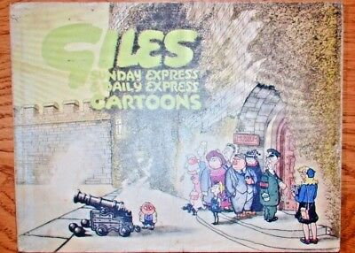 GILES CARTOON ANNUAL Second Series1946-47; Sunday Daily Express; Original