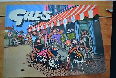 GILES CARTOON ANNUAL No. 9 from 1954-55; Sunday Daily Express; Original