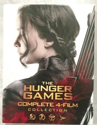 THE HUNGER GAMES COMPLETE 4 FILM COLLECTION 6 Disc Blu-ray set +HD Digital