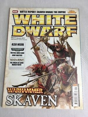 White Dwarf Magazine January 2011 Issue 373 Warhammer Skaven Games Workshop