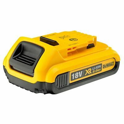 Genuine Dewalt DCB183 18v 2.0Ah XR Li-Ion 2ah Lion Slide Battery 2000mah NEW