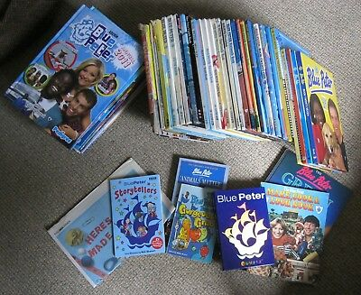 40+ BLUE PETER ANNUALS - Complete set 1964 - 2011 + extras in varying condition