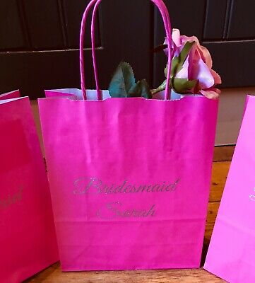 Personalised gift bag party gift bag