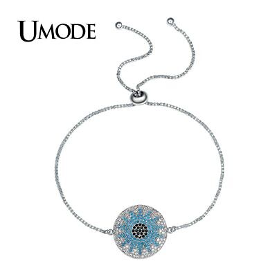 UMODE New Fashion Party Austrian Rhinestone Round Chain & Link Bracelets for