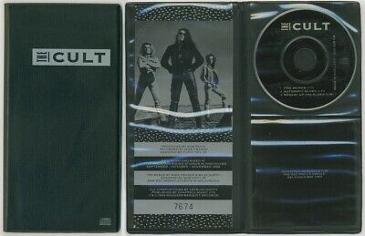 """THE CULT - Rare UK 3"""" CD single wallet Fire Woman numbered edition 7674"""