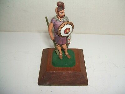 Rose Miniatures Ancient Gaul On Wooden Plinth