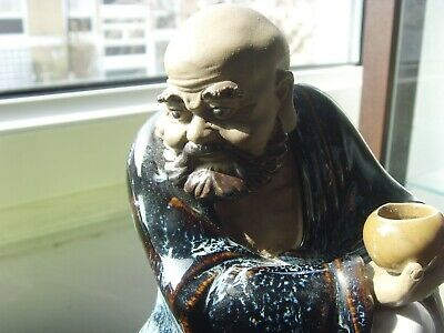 chinese clay pottery figure