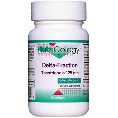 NUTRICOLOGY - Delta-Fraction Tocotrienols 125 mg - 30 Softgels