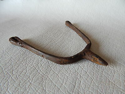 Ancient Iron Spur 9 - 10 century AD. Vikings Age.
