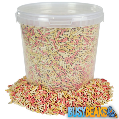 BusyBeaks Mixed Suet Pellets - Mealworm Berry High Energy Wild Bird Feed