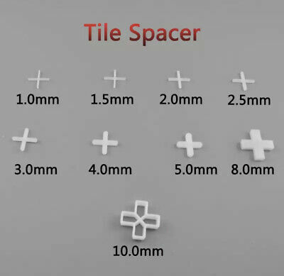 2mm 3mm 5mm 10mm Tile Spacers Floor Wall Tiling