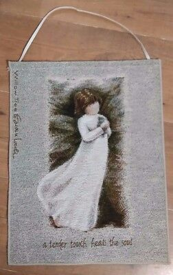 Willow Tree Classic Angel of the Heart Tapestry Wall Hanging Susan Lordi Heart