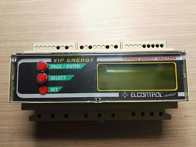 Elcontrol Vip Energy 3Phase Analyzer