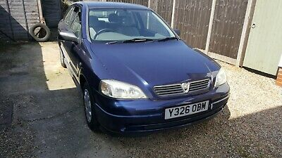 Vauxhall Astra Envoy 1.6 Auto 2001 Only Done 61000 miles Spares or Repair NO MOT