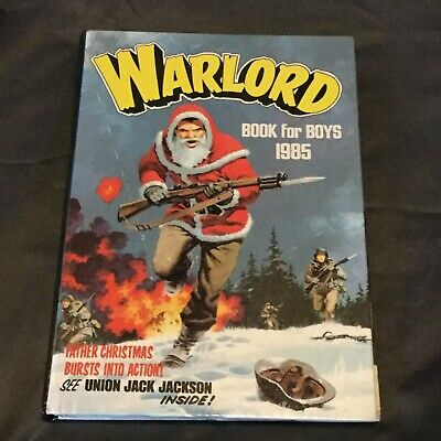 ⭐️ A Fab Vintage 'Warlord' Book For Boys 1985 Annual Unclipped Superb Condition!