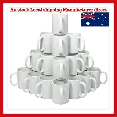 Quality 11oz 36 White Sublimation Coated Mugs for Mug Press
