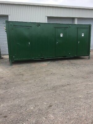 Welfare Toilet Shower Unit. Shipping Container