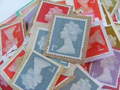 60 1st class stamps  unfranked (lot 2522)